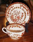 Copeland Spode England  Indian Tree cup and saucer