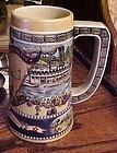 Miller Great American Achievements beer stein the first River Steamer