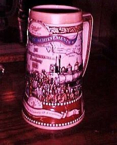 Miller Great American Achievements stein first continental Railroad