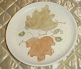 Poppytrail Metlox woodland gold bread and butter plate