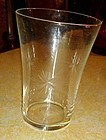 Susquehanna Six point star flared tumbler 4 1/8""