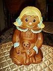 Twin Winton Mopsy cookie jar