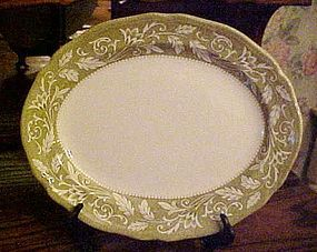 J & G Meakin Victoria Ironstone platter, Royal Staffordshire