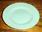 """Vintage Franciscan Ware turquoise bread and butter plate 6 1/4"""""""