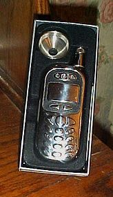 Cell phone flask set with funnel boxed