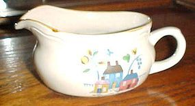 International China Heartland pattern gravy boat