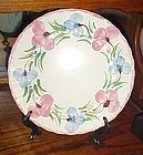 "Blue Ridge Southern Potteries Sweet pea 10 1/2"" dinner plate"