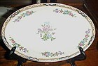 J&G Meakin Hanley England Chatsworth deep oval bowl/platter 8 5/8""