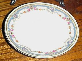 B Bloch & Co Eichwald Czecholslovakia pattern CZE4 single saucer