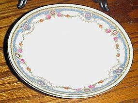 Bloch & Co Eichwald Czechoslovakia pattern CZE4 bread & butter plate