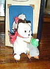 Hallmark Keepsake ornament Fancy Footwork Snowball and tuxedo MIB