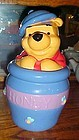 Winnie the Pooh in the Hunny pot cookie jar