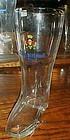 Giessener BiereTraditions Pilsner 1 litre glass boot beer glass