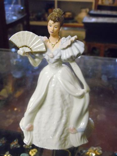 Lenox Beauty of the ball porcelain lady figurine