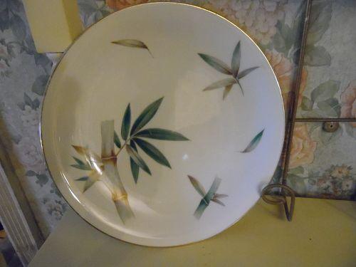 Noritake Canton #5027 Bamboo 10 3/8 Dinner plate
