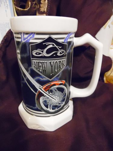 Orange county choppers beer stein 2005 New York motorcycle collectible