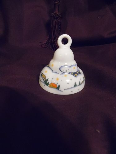 Arzberg Glockchen Christmas Porcelain Bell Arzberg Germany