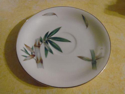 Noritake Canton # 5027 Bamboo  single saucer