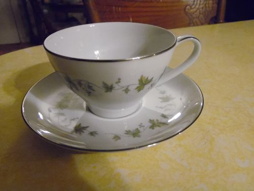Noritake Lexington pattern 6435 cup and saucer PERFECT
