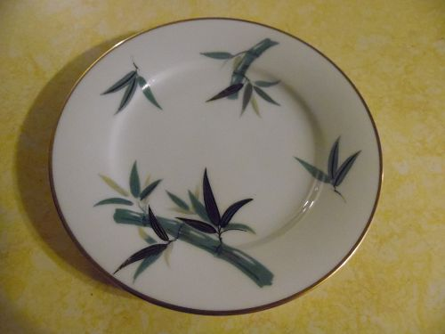 Noritake Japan #5490 bamboo bread and butter plate