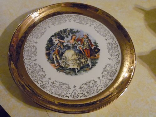 "Crest O Gold Sabin China 9 1/4"" luncheon plate"