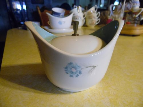 Taylor Smith Taylor Ever Yours Boutonniere sugar bowl with lid