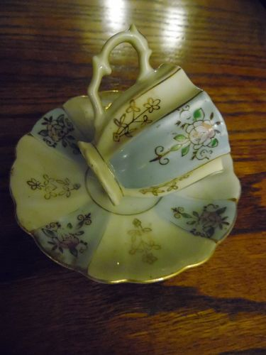Vintage Hand Painted Occupied Japan demi cup and saucer