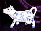 Delft style cow creamer
