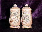 Vegetable decorated shakers