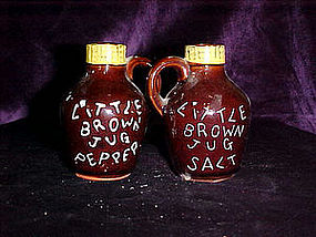 little brown jug salt & pepper