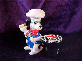 Hot Dog Chef and Grill salt & pepper set