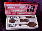 Blue willow Hostess Server set in original box