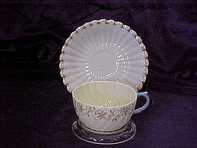 Beleek style cup and saucer ??