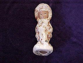 Pottery Eskimo figurine