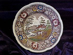 Royal Cauldron scenic plate