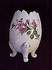 Large Hand painted Egg Vase Napco