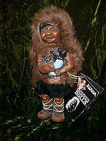 Authentic Kiana eskimo doll from Alaska