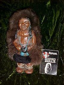 Kiana souvenir eskimo doll from Alaska