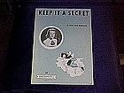 Keep it a secret