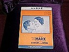ALONE, A  Night at the Opera, The Marx Brothers