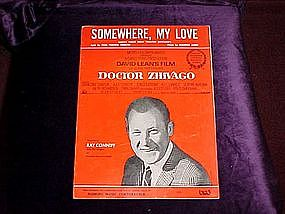 Somewhere My Love, Dr Zhivago