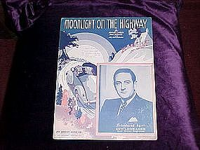 Moonlight on the Highway, 1937