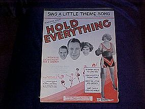 Sing a little theme song, from movie, Hold Everything