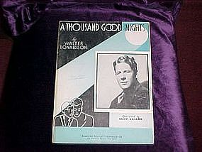 A Thousand Good Nights featuring Rudy Vallee