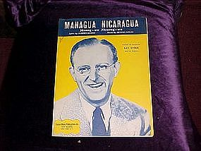 Managua Nicaragua recorded by Kay Kyser