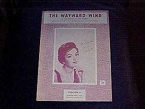 The Wayward Wind, Gogi Grant cover