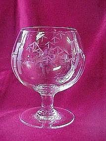 "Noritake ""Bamboo"" brandy glass"