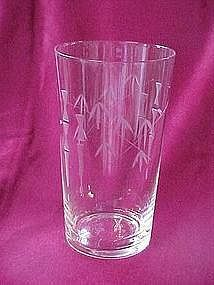 "Noritake ""Bamboo"" highball glass"
