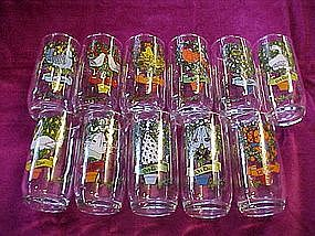 Twelve Days of Christmas tumblers