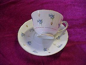 "Noritake ""remembrance"" cup and saucer"